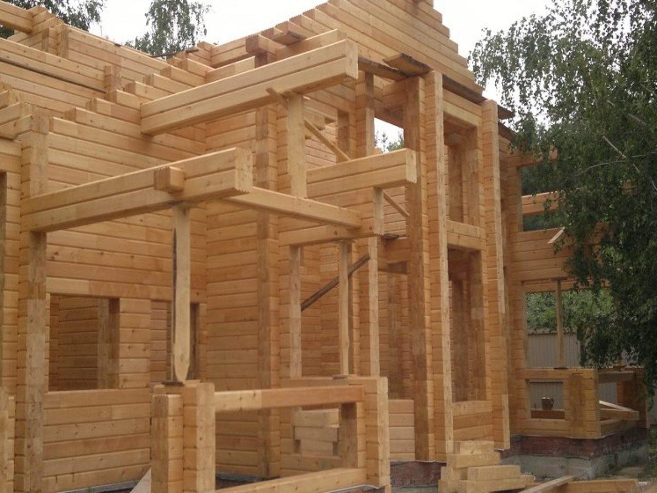 Строительство дома из клееного бруса Боровые