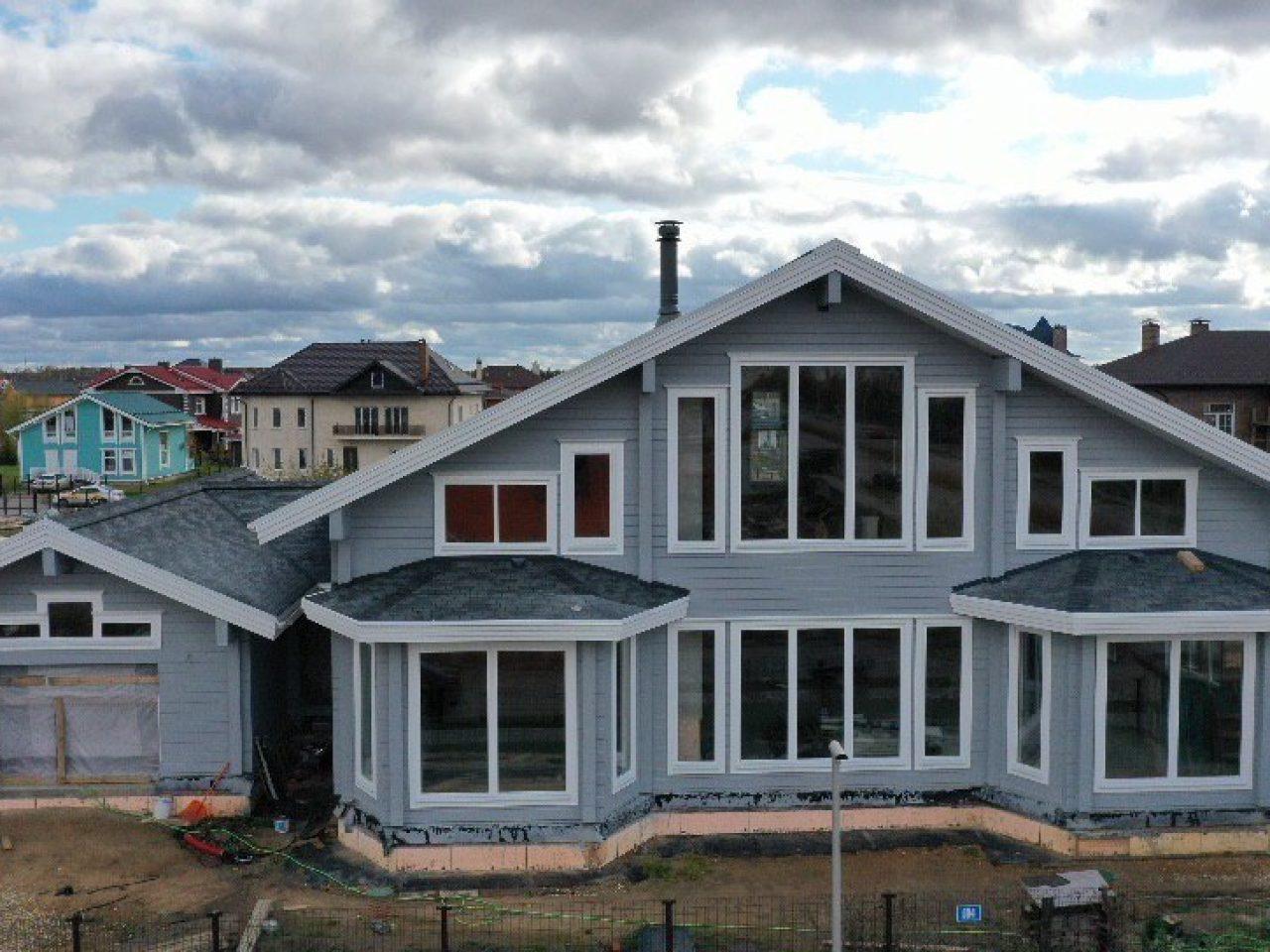 Дом из клееного бруса Ромэйн