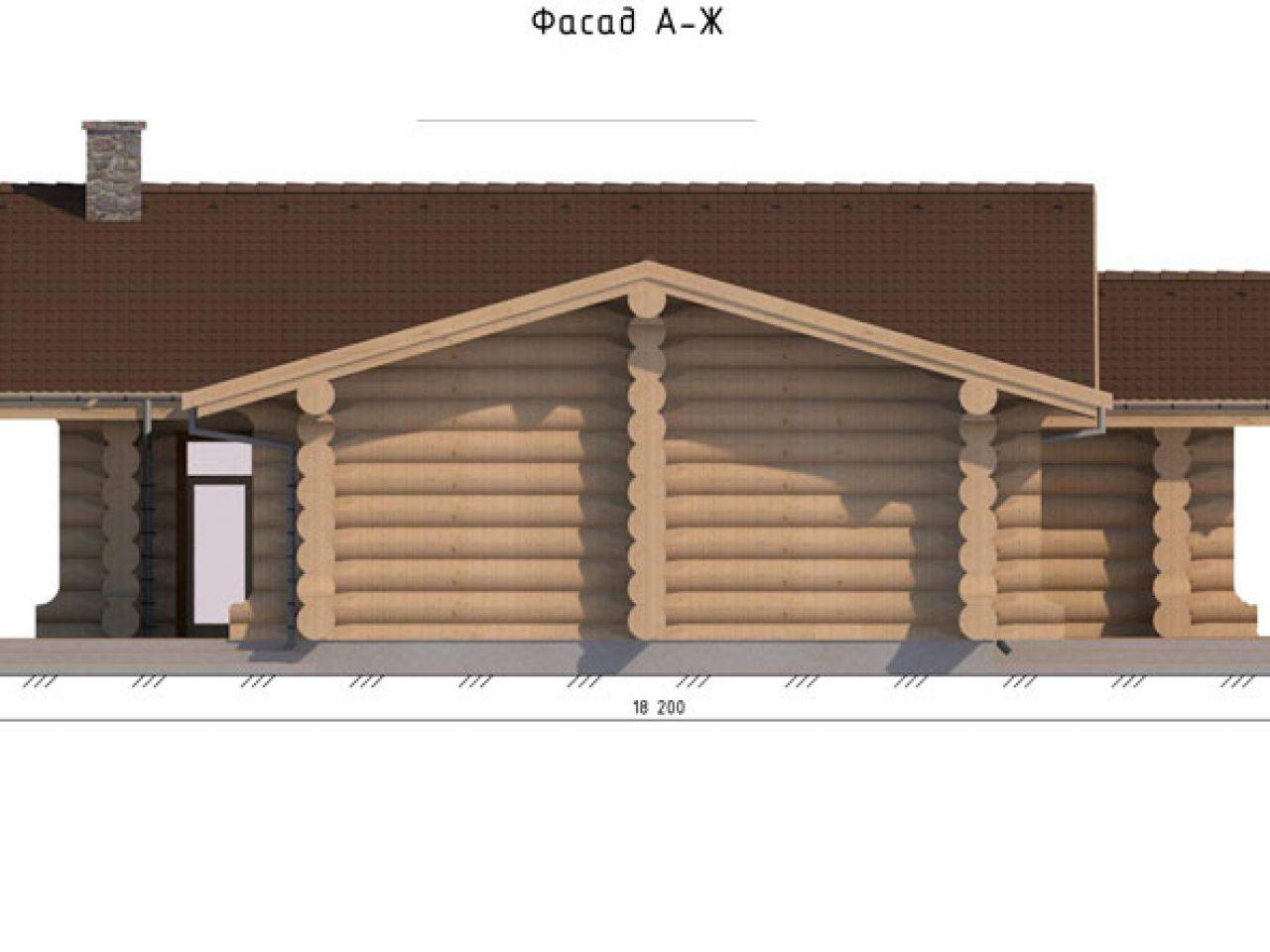 фасад проект Кедровый дом