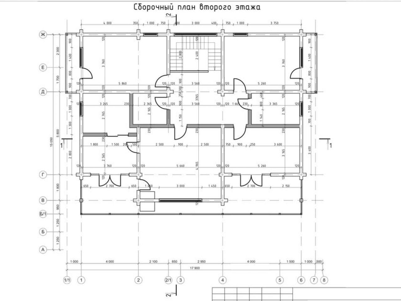 план 2 этажа Лес и река