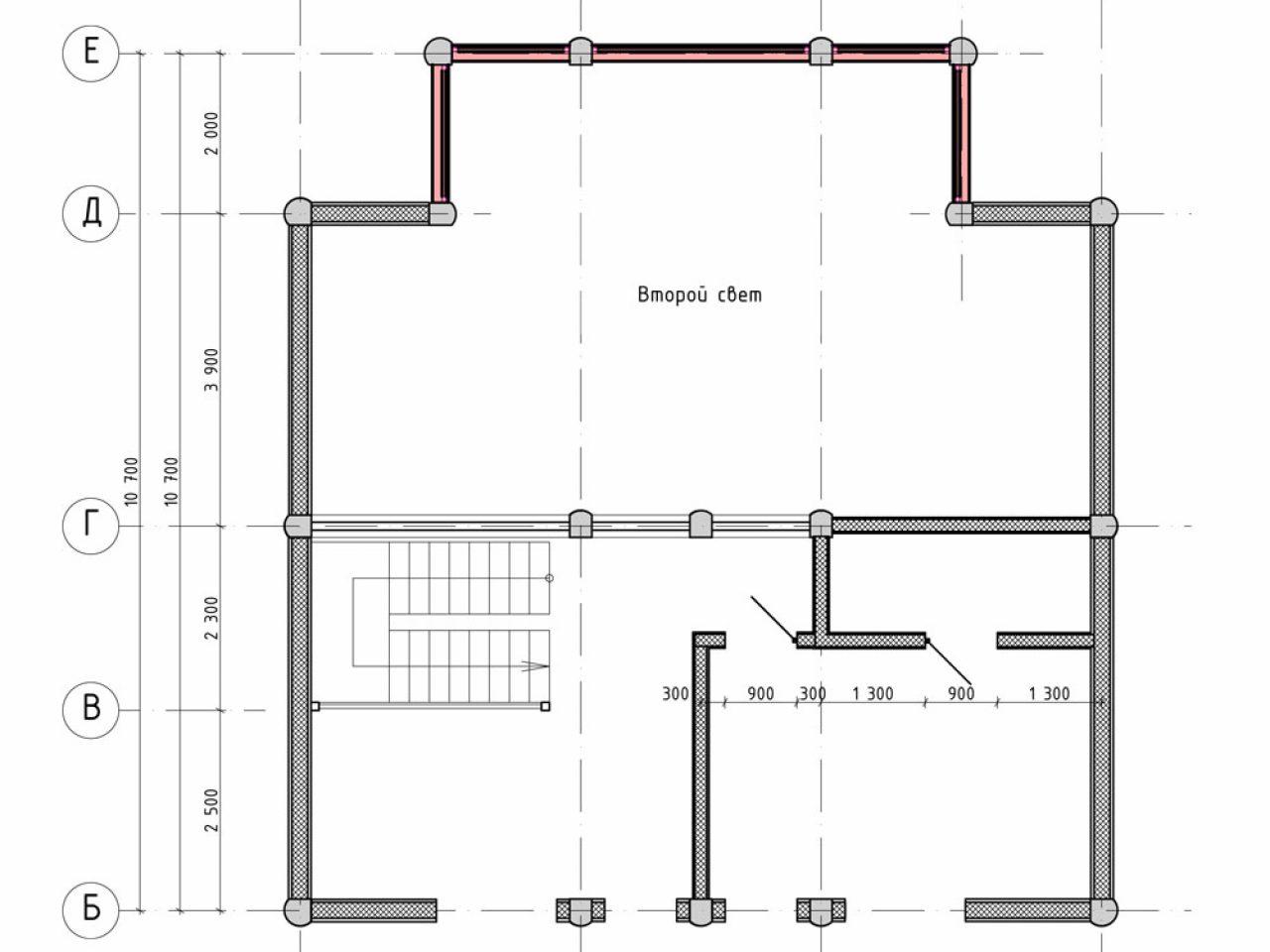 план дома проект Австрия